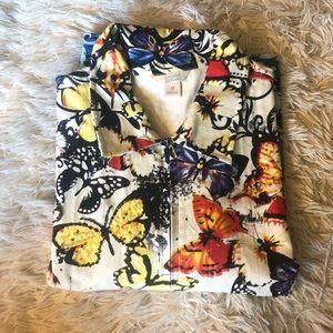 Beautiful denim butterfly jacket by